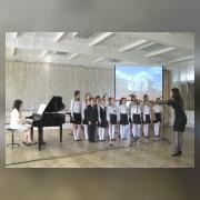 Вокальный ансамбль, средняя  группа (рук. Тетерина С.Н., концертмейстер Кузина А.Е.)