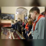 Участники Суворовских чтений знакомятся с экспозицией музея