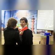 Посвящение Олега  Суворова (юнармейский отряд