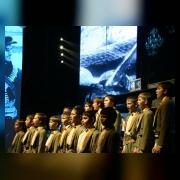 Исполнение песни  Мальчишки у стен Ленинграда