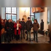 3.Коллектив отдела в Нижней Благовещенской церкви Александро-Невской лавры