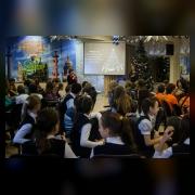 Ведущие Сбора – Суворова Т.В., заведующая отделом и Тихонова Д.А., педагог-организатор