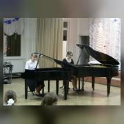 Наташа Борздун и Юля Литвинова