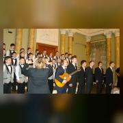 Концертный хор на концерте Весеннее поздравление