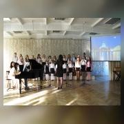 Вокальный ансамбль, концертный состав  (рук. Тетерина С.Н., концертмейстер Кузина А.Е.)