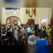 7.Коллектив отдела на экскурсии в  Государственном мемориальном музее А.В. Суворова