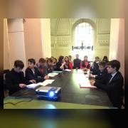 Участники Суворовских чтений