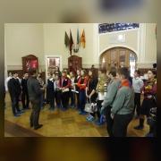 .К. Тучапский проводит экскурсию по теме «А.В. Суворов и его