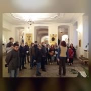 2.Коллектив отдела в Нижней Благовещенской церкви Александро-Невской лавры
