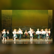 Младшая группа. Буковинский танец.