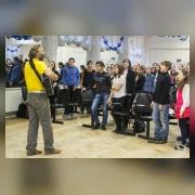 По традиции Общий сбор был открыт коллективным исполнением песни