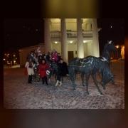 Скульптуры в Минске приглашают даже прокатится
