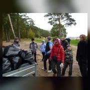 Администрация ДООЛ «Солнечный» обеспечила вывоз мусора, собранного участниками трудового десанта
