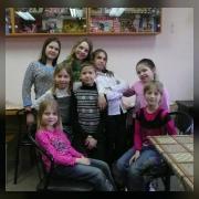 Группа участников выставки