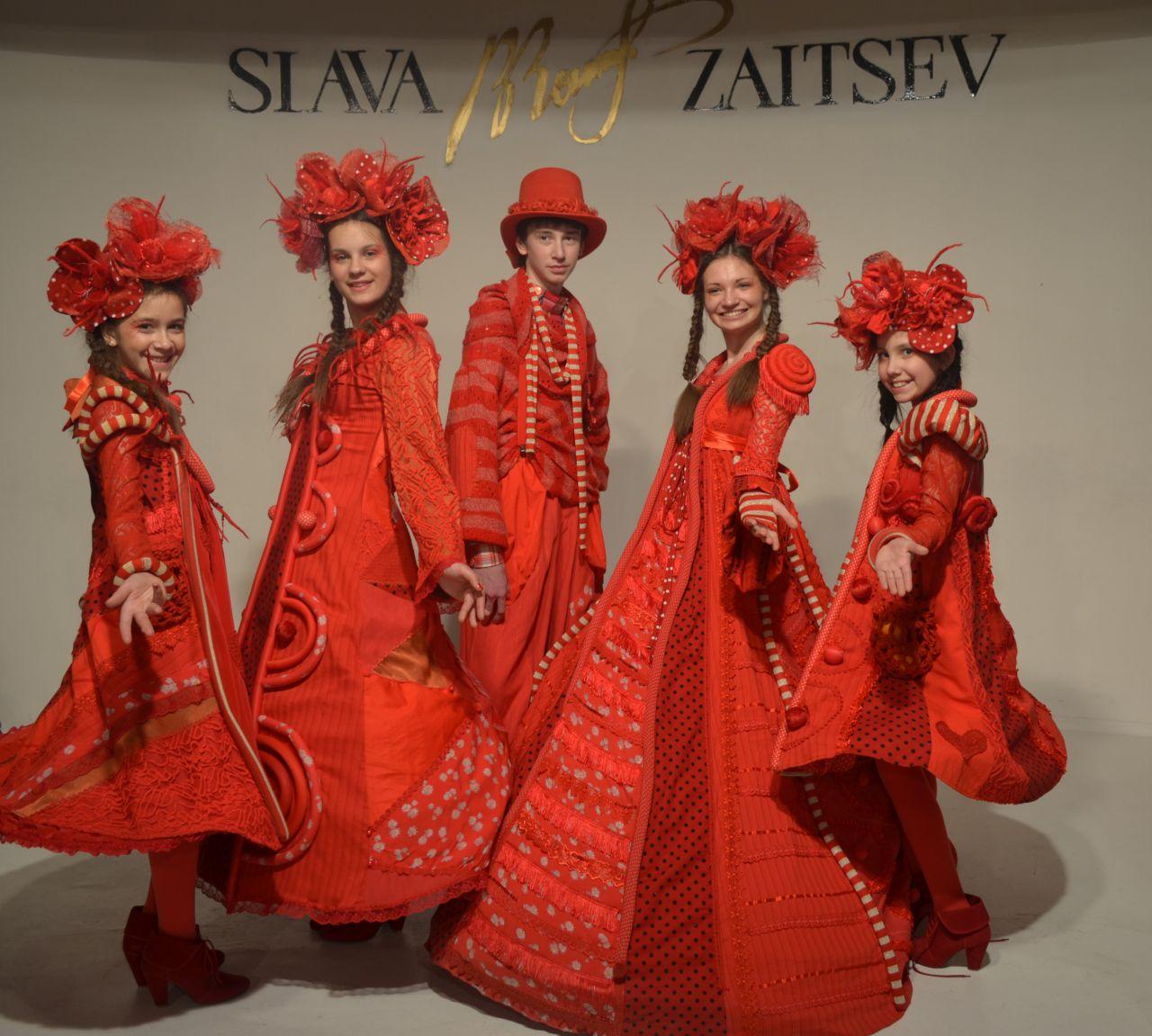Сценарий конкурса авангардной моды