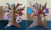 Коллективная работа 8-11 лет Волшебное дерево